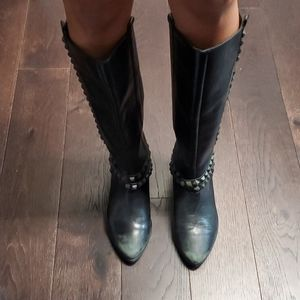 Zara Basic Collection Studded Boots